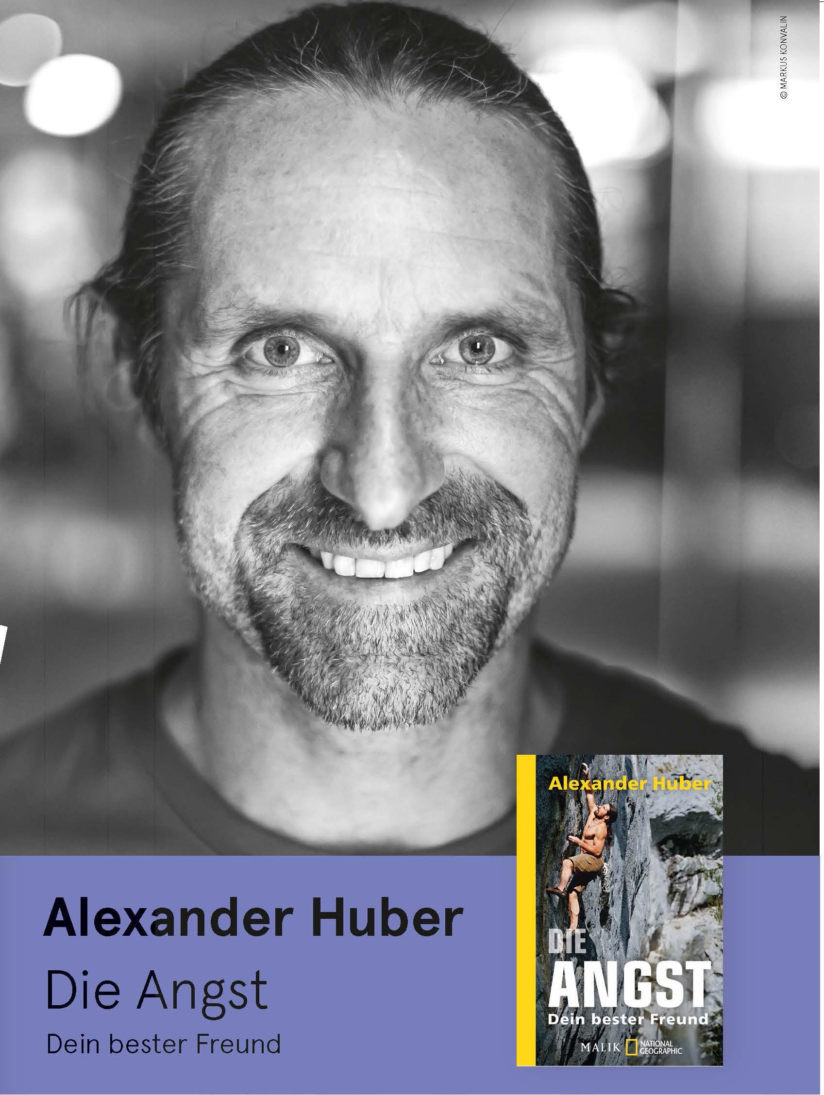 Alexander Huber von den Huaberbuam am 25.10.2020
