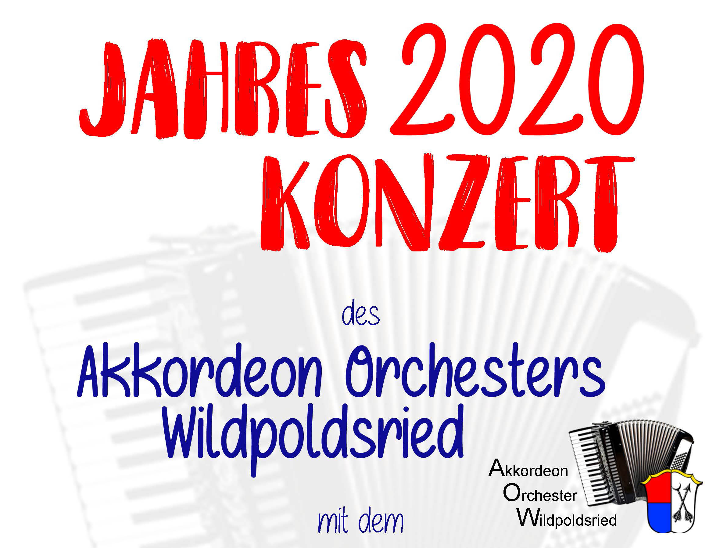Akkordeon Orchester am 8.2.2020