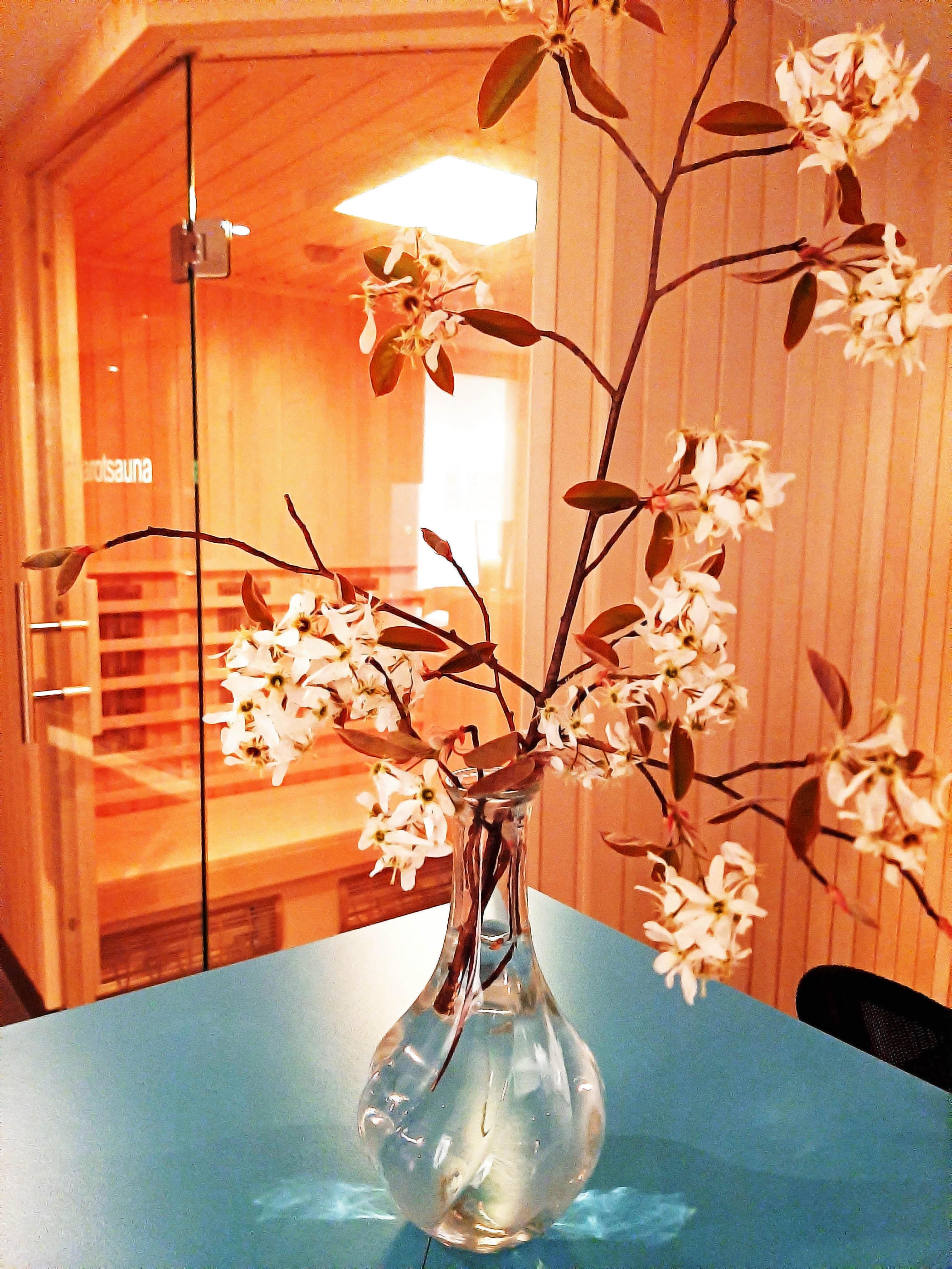 Wellnessbereich im Allgäu Hotel Kultiviert