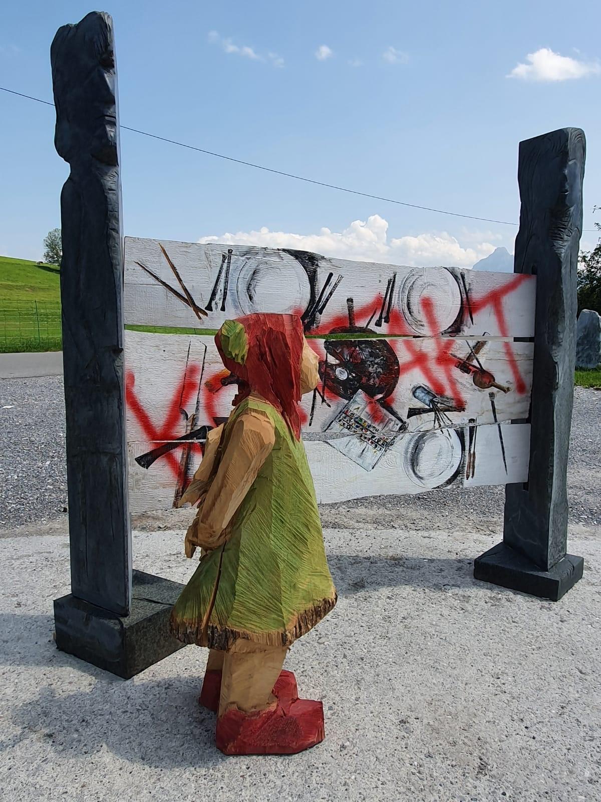 Ausstellung von Julia Hiemer und Franz Probst