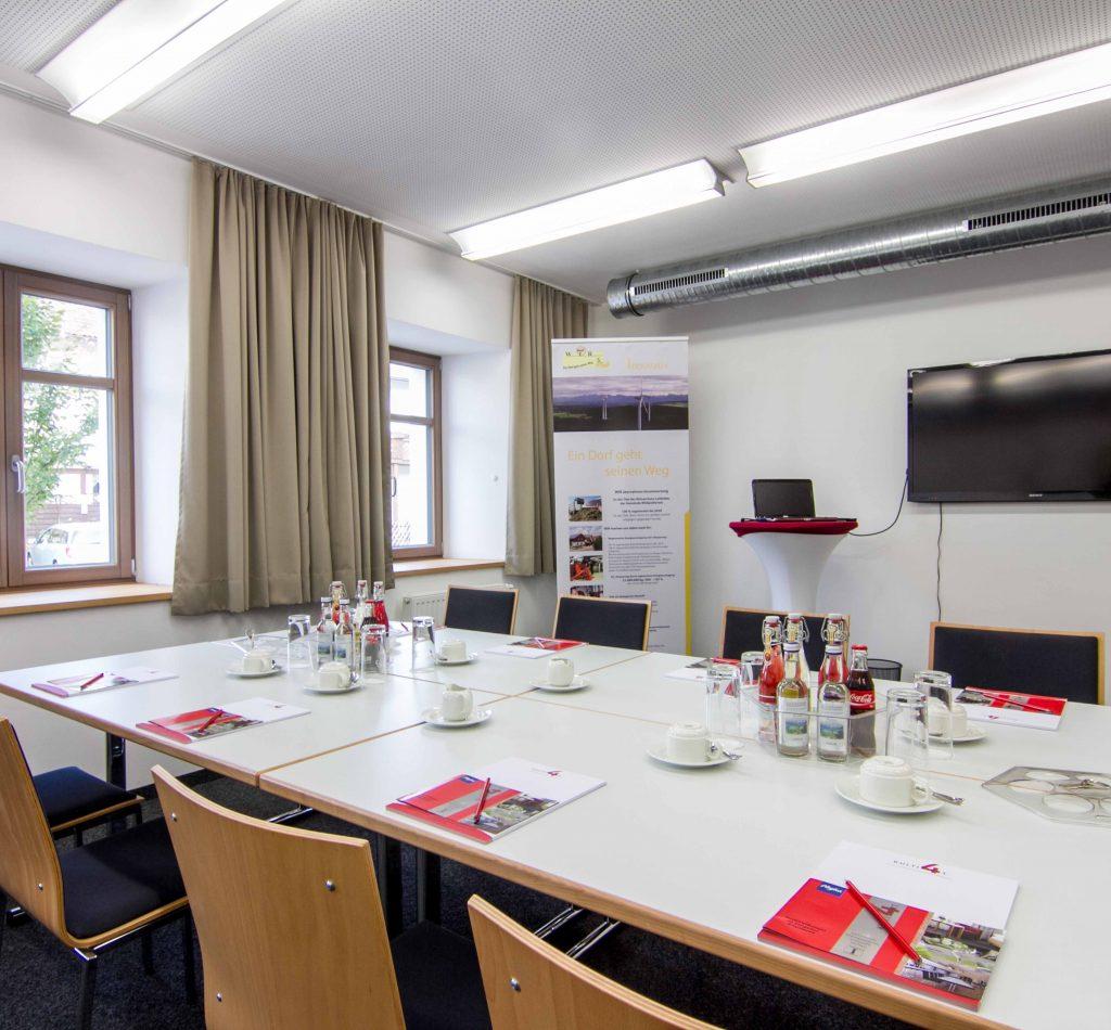 Tagungsraum im Allgäu Hotel kultiviert