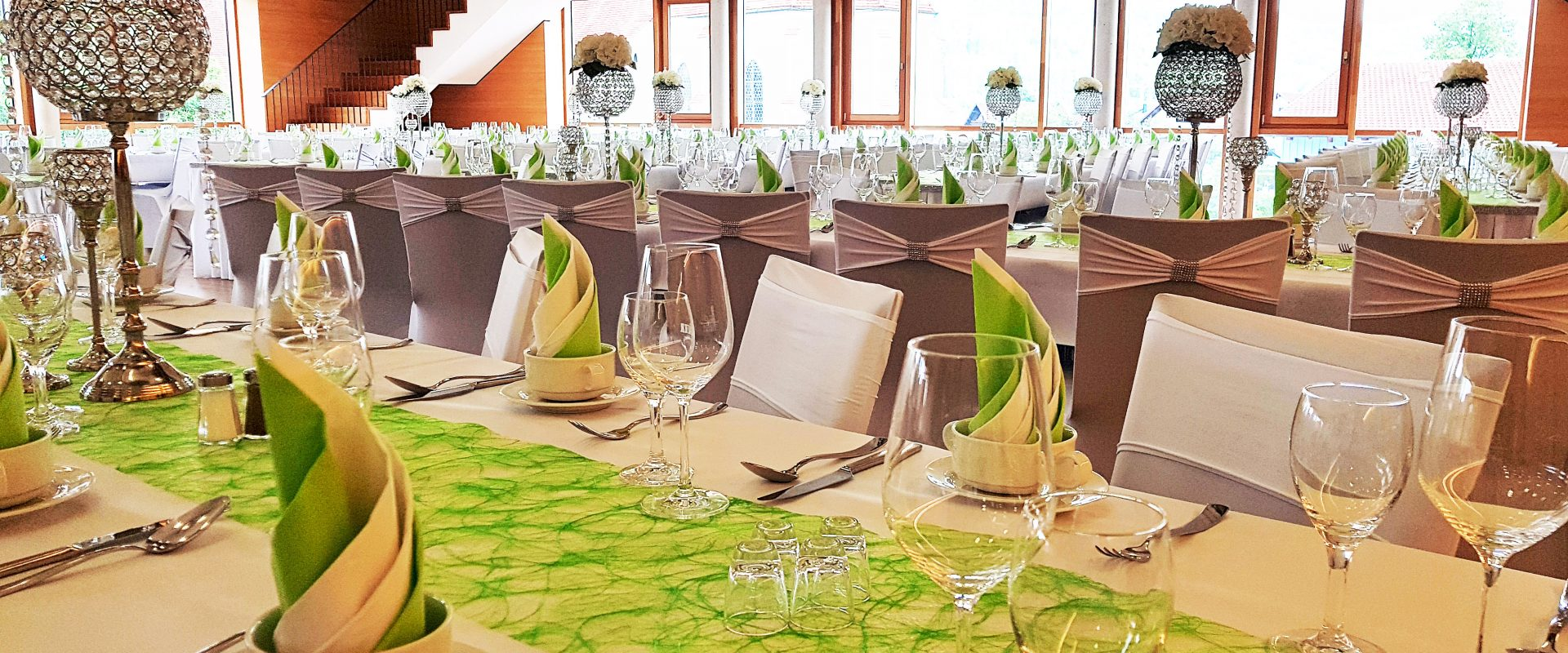 Hochzeitssaal im Allgäu Hotel Kultiviert