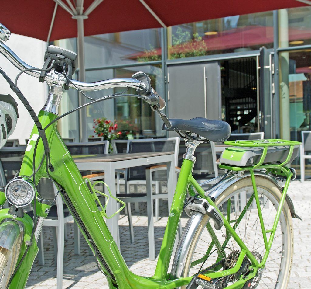 Fahrradverleih Ebike Hotel Kultiviert