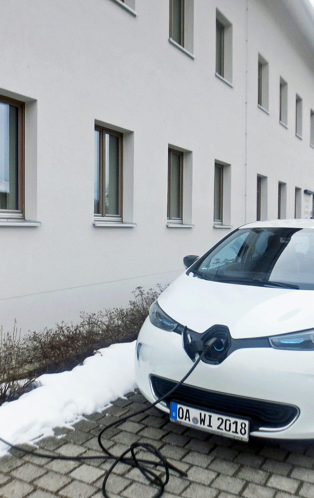 Elektroladesäule Energiehotel Kultiviert Wildpoldsried