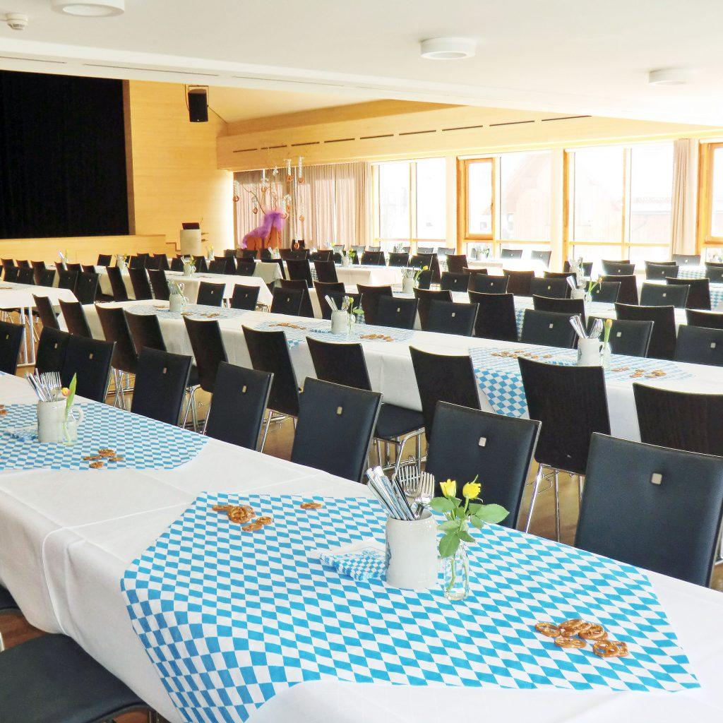 Feste feiern im Allgäu Dorfsaal Energiehotel Kultiviert Wildpoldsried